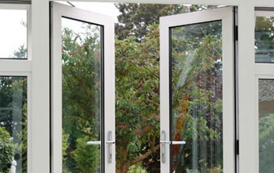 Sapa doors aluminium french doors for Aluminum french doors