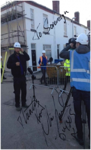 signed DIY SOS picture